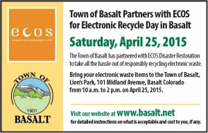 ECOS Ewaste Recycling Event