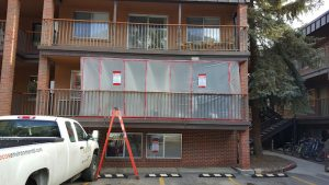 Asbestos Removal Commercial Job Site