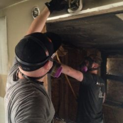 Smoke Odor Damage Basalt Colorado Technicians Working